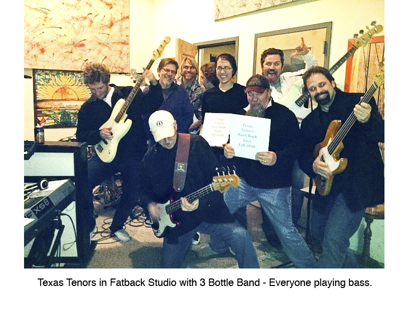 Texas Tenors at Fatback Studio
