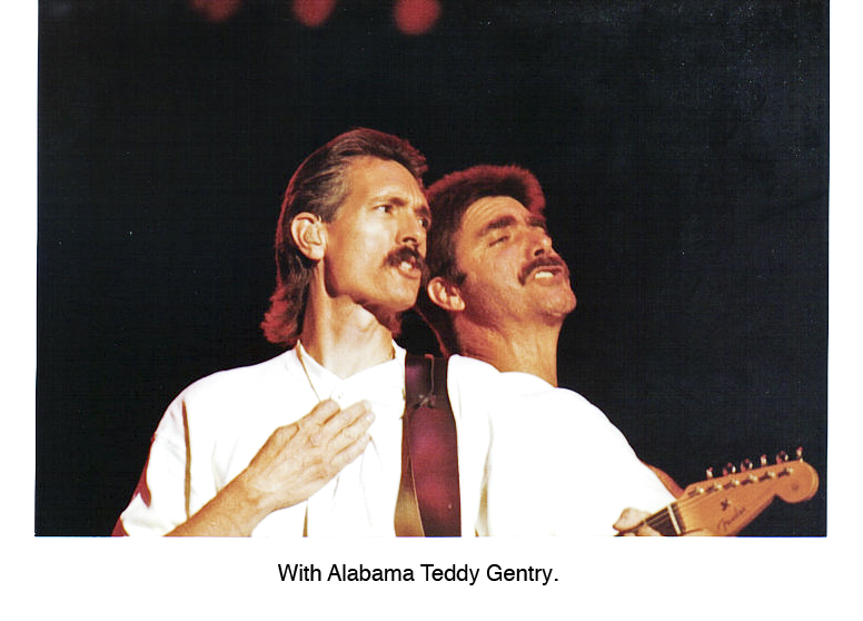 With Alabama Teddy Gentry