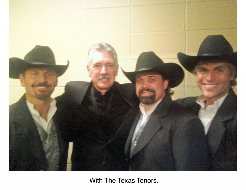 With The Texas Tenors