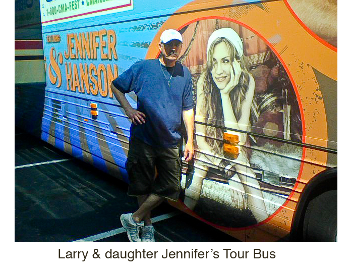 Larry-Jennifer Tour Bus
