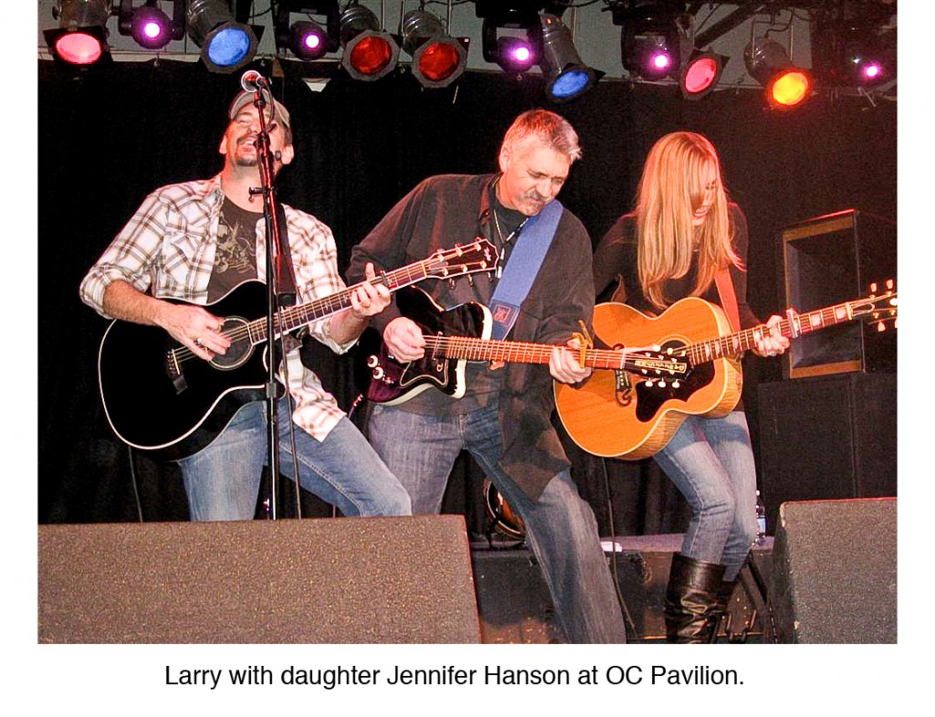 Larry with daughter Jennifer Hanson at OC Pavillion