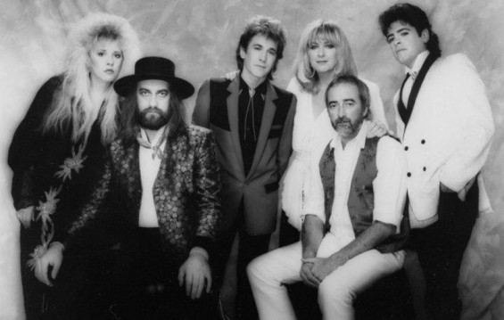 Rick with Fleetwood Mac